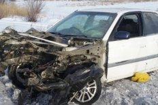 Водитель врезавшегося в поезд автомобиля отказался от освидетельствования