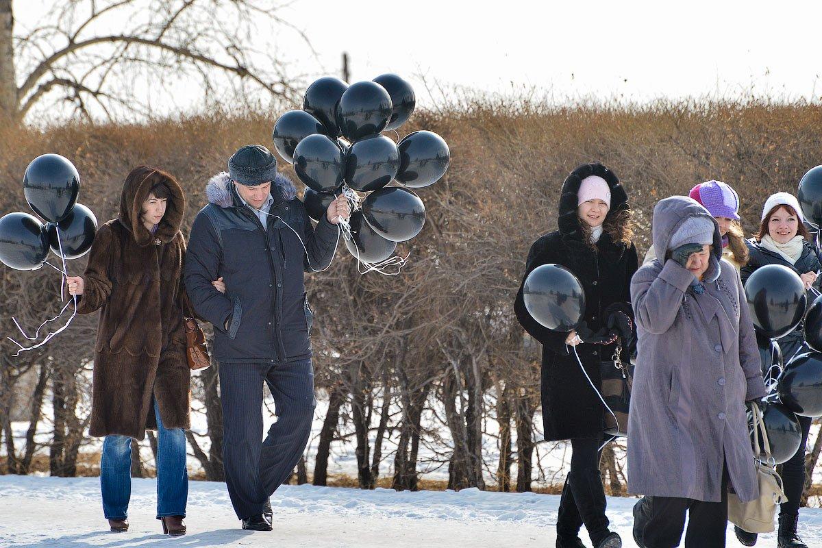 Черные шары в подарок