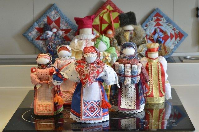 славянская обрядово обереговая кукла подведем итог нашему