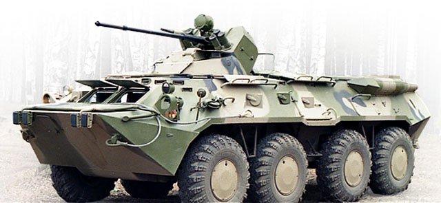 машины пехоты БМП-3.