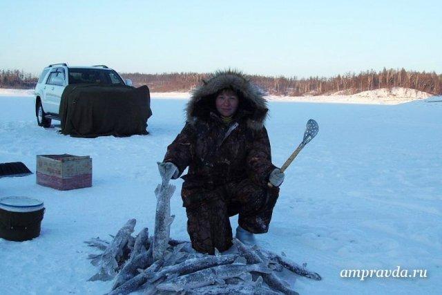 рыбалка на талакане фото