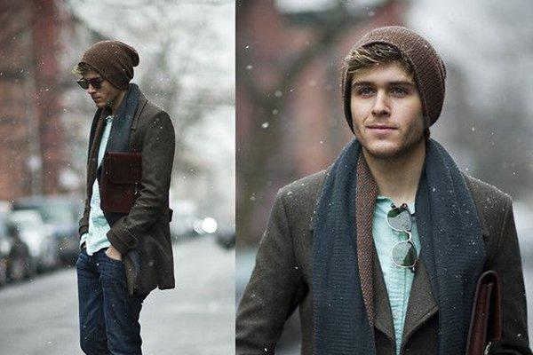 какие шапки в моде этой зимой фото