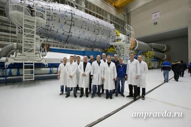 На космодроме Восточный начался «сухой вывоз» ракеты