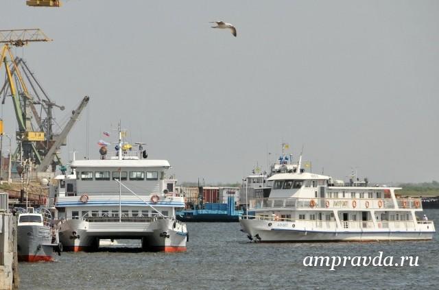 Работа морской и речной отрасли