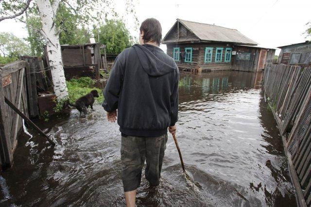 ВПриамурье из-за паводка эвакуирован детский лагерь
