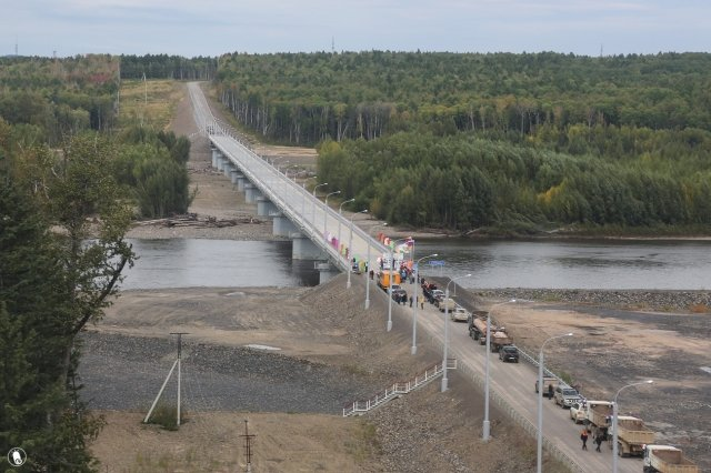ВПриамурье открыли автомобильный мост через Селемджу