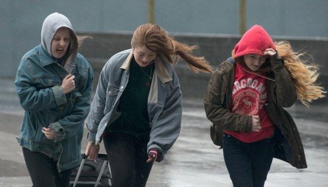 Сильный ветер идожди ожидаются 10октября в Беларуссии