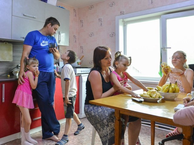Поддержка многодетных семей в следующем году