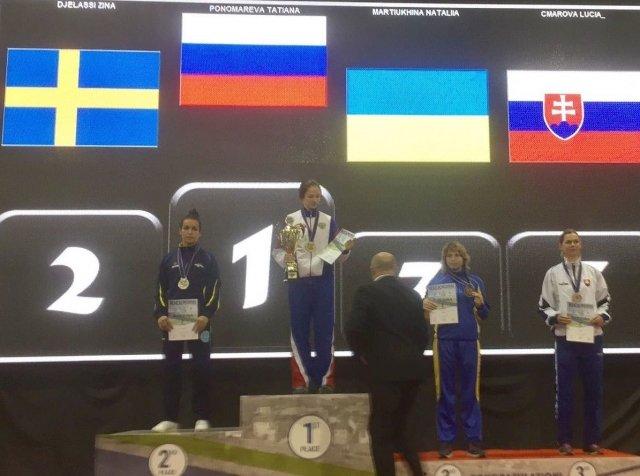 Амурчанка стала чемпионкой Европы покикбоксингу
