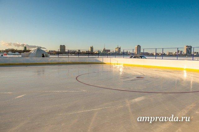 Детская хоккейная команда изРФ одолела команду из Китайская народная республика нальду Амура