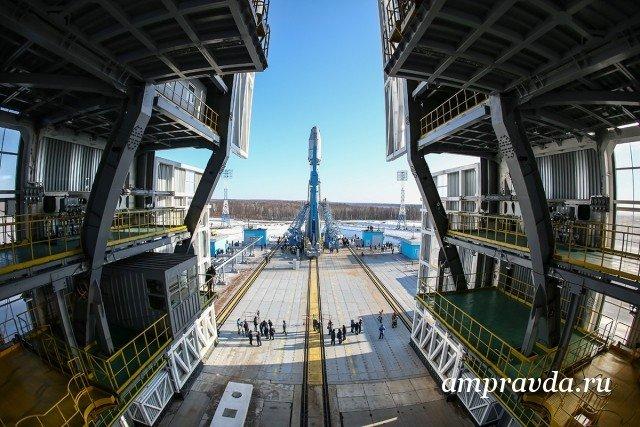 На «Восточном» начался монтаж оборудования для обеспечения нового запуска ракеты