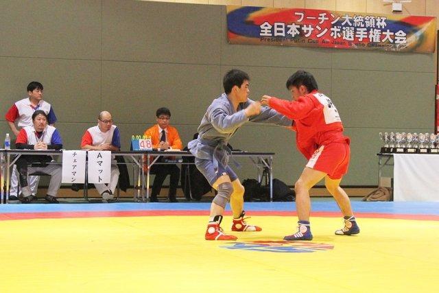 Чемпионат Японии посамбо наКубок Российского Президента стартовал вТокио