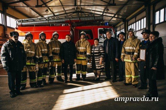 новые штаты пожарных частей начинают его