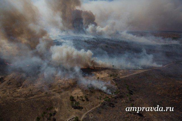 ВПриамурье иЗабайкалье из-за лесных пожаров введен режимЧС