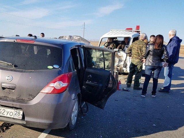 Вавтокатастрофе под Ивановкой выжил годовалый ребенок