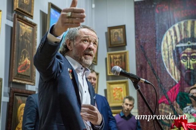 Скончался известный амурский художник Александр Тихомиров