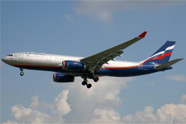 «Аэрофлот» пояснил экстренную посадку пассажирского самолета вХабаровске