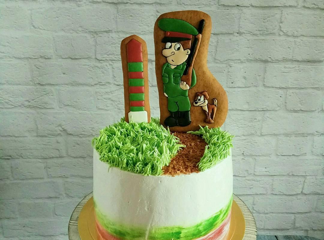 торт с пограничником картинки