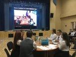 Старшеклассники Белогорска сыграли в «Брейн-ринг» с крымскими белогорцами