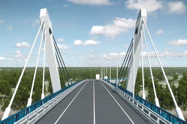 Проект трансграничного моста через Амур представили навыставке вХарбине