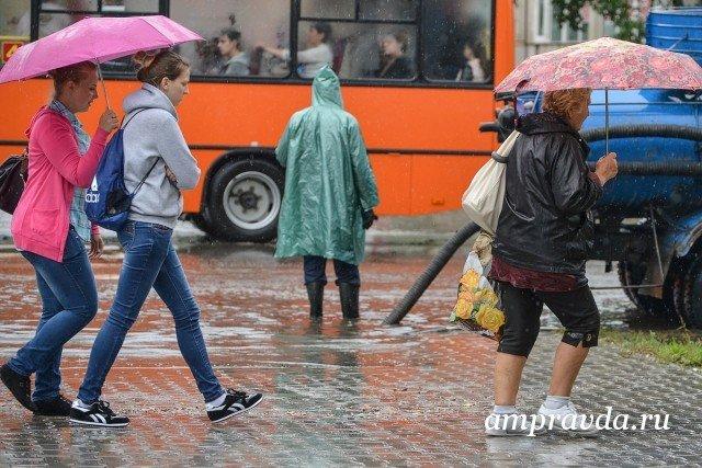 ВАмурской области объявили штормовое предупреждение на10