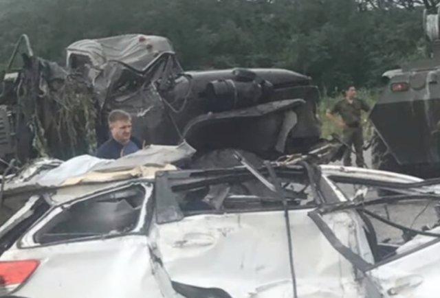 Три человека погибли вДТП наприморской трассе