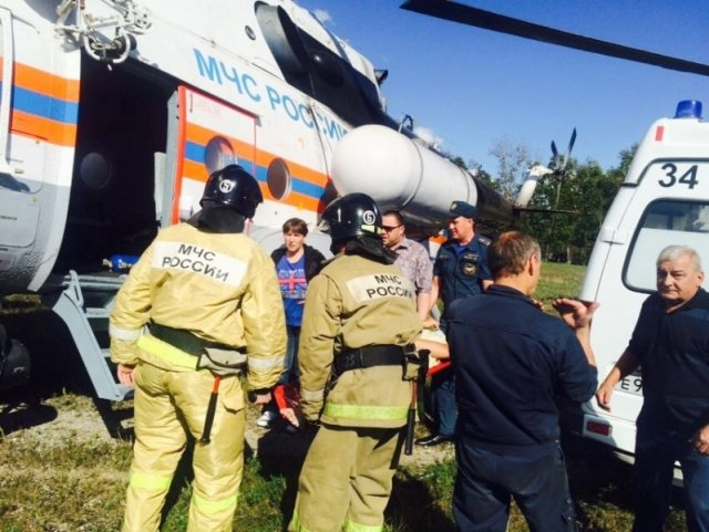 Натрассе вПриамурье случилось ДТП, ранены 15 человек