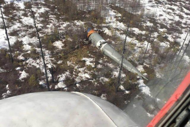 ВЯкутии ищут отделившиеся части ракеты «Союз-2.1б»