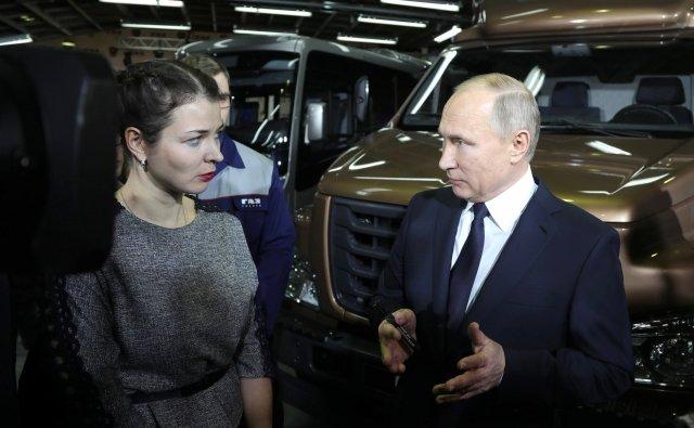 Владимир Путин подтвердил свое намерение участвовать ввыборах