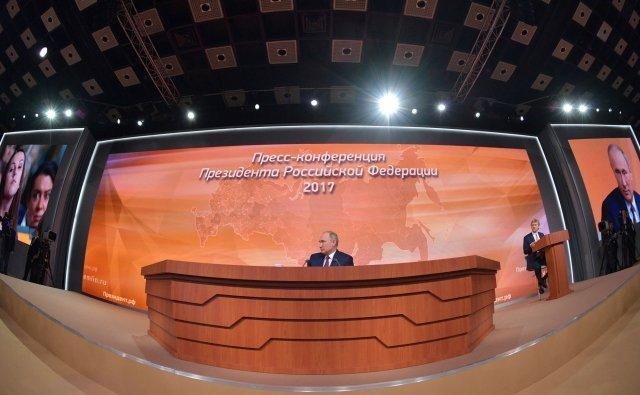 Песков сказал, как Путин готовится кежегодной пресс-конференции