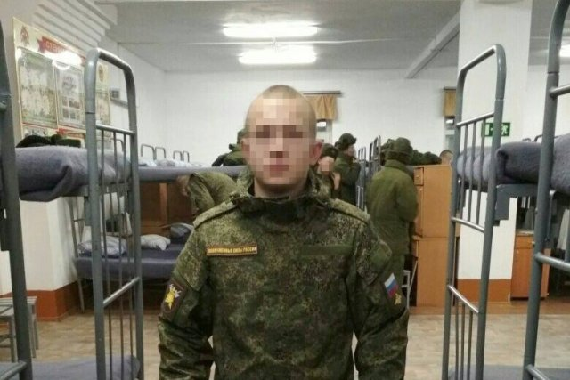 ВБелогорске найден военнослужащий согнестрельным ранением