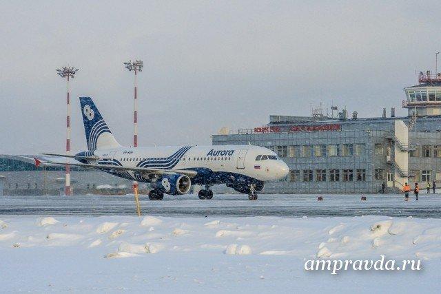 Ваэропорту Южно-Сахалинска задержаны восемь рейсов