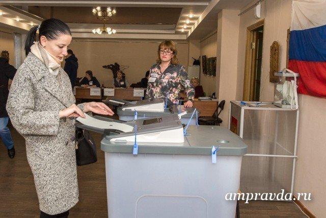 Выборы президента в Амурской области прошли по «золотому стандарту»