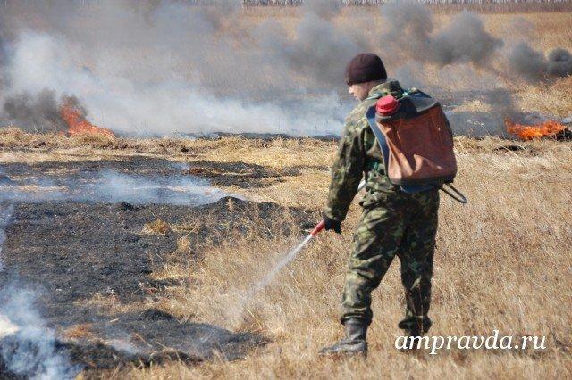 ВПриамурье вводят особый противопожарный режим