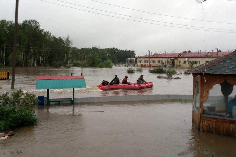 ВАмурской области ввели режимЧС из-за паводка