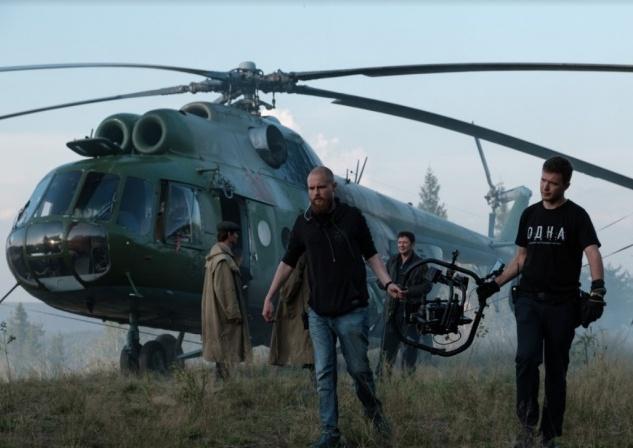 На месте съемок фильма под Губахой.Фото:Ярослав Чернов,59.ru.