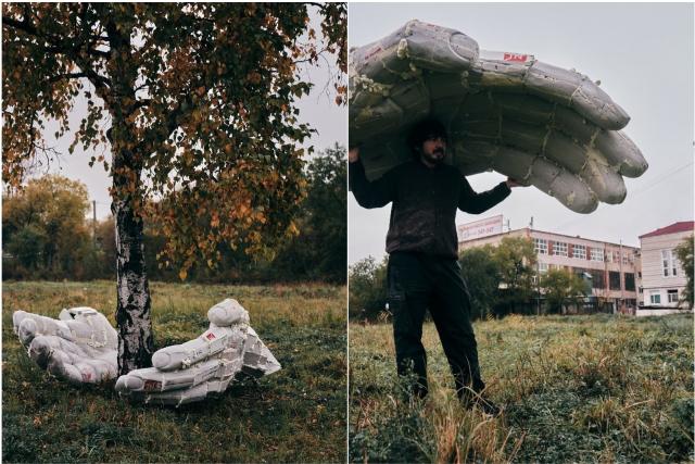 """保护大自然的""""手""""将出现在布拉戈维申斯克友谊公园/保护大自然的""""手""""将出现在天使报喜公园。艺术家和雕塑家亚历山大·坎特米罗夫(Alexander Kantemirov)正在以此名称命名新雕塑。预计这种小型建筑形式的工作将在11月底完成,并将在冬季或春季出现在公园中。"""