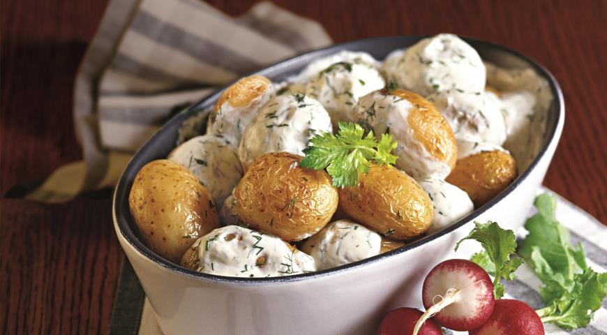 Блюда с молодой картошки рецепты