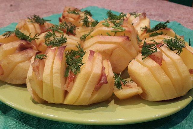 Картофель на праздник рецепты