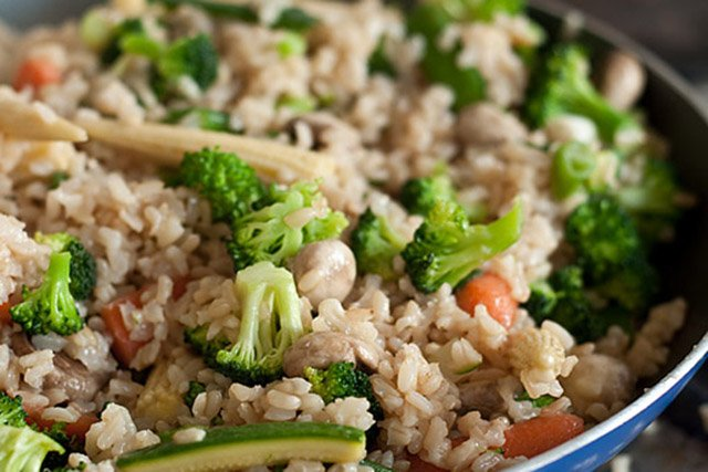 Как приготовить коричневый рис для похудения