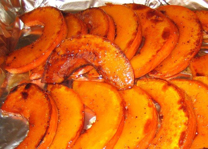 Рецепт приготовления тыквы с начинкой в духовке