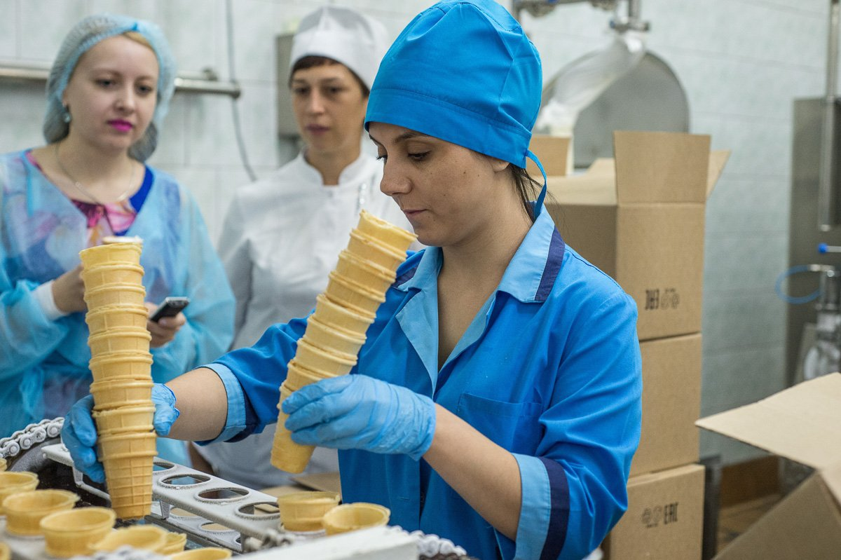 Фото предприятия в азове мороженого данном разделе