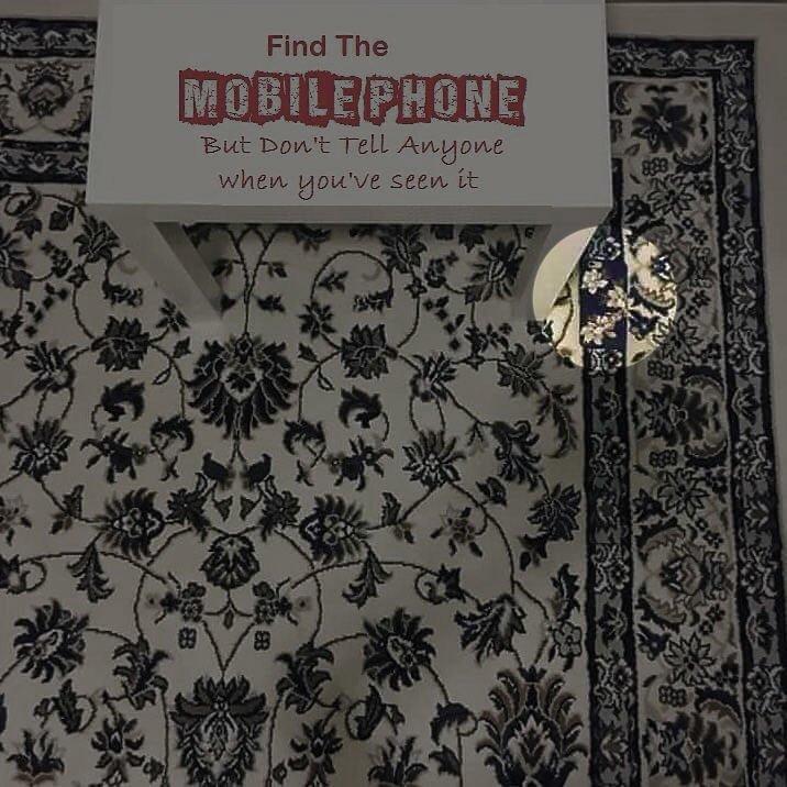 даша найди телефон на ковре ответ фото создания эффекта объемного
