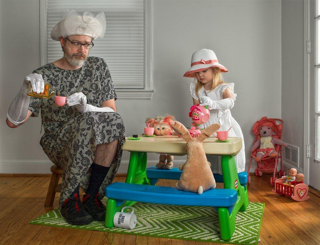 Прикольные картинки про отца и дочек, про
