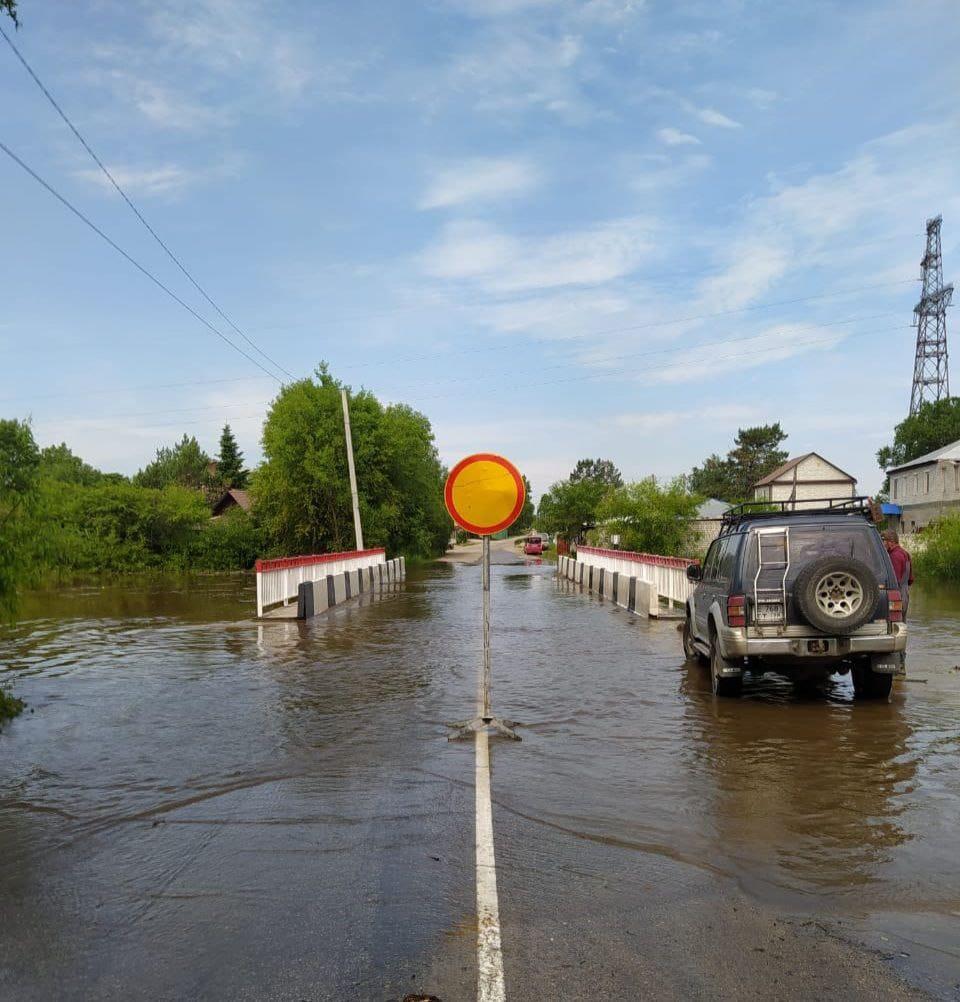 В Амурской области вода подтопила 117 домов и 204 приусадебных участка